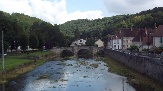 Bridge in Chambon.