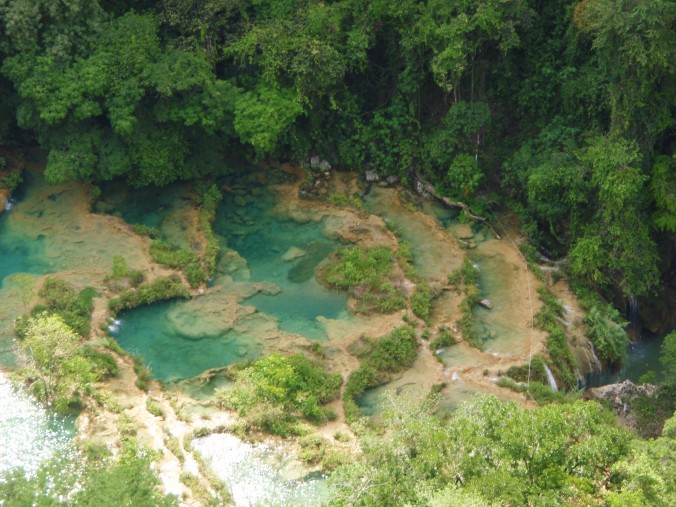 Semuc Champey. Knock-out gorgeous natural wonder.